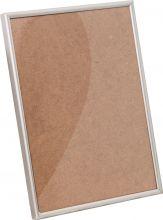 Рамка Нельсон №2 цвет матовый серебро 10х15см